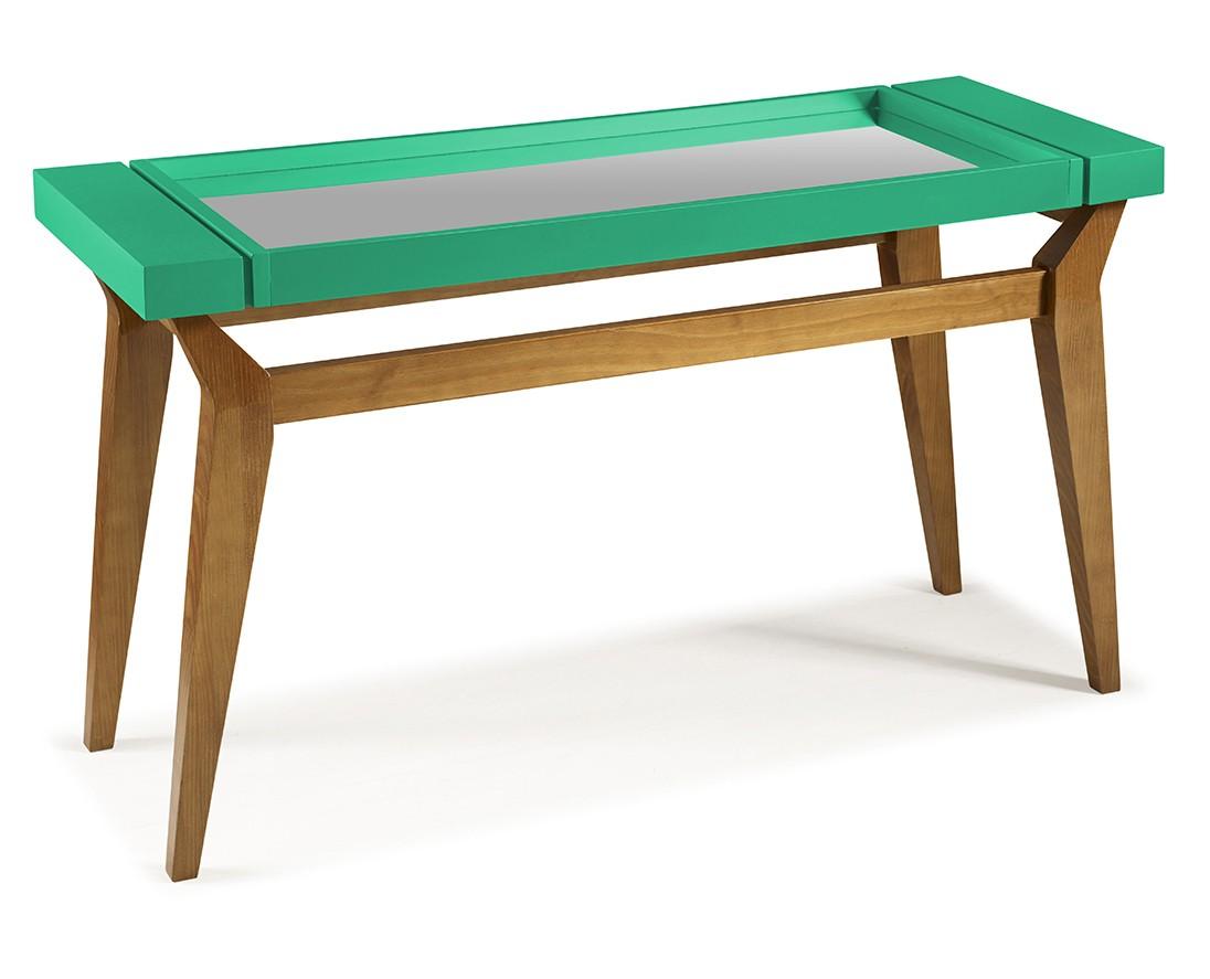 Armario Kallax Ikea ~ Aparador Crystal Verde Esmeralda Diversas cores Design Assinado Mobilia Moderna Minha Mobília