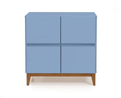 Buffet 4 Portas Home  -  Azul Claro
