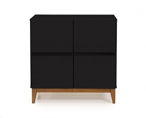 Buffet 4 Portas Home  -  Preto