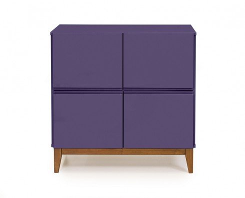 Buffet 4 Portas Home  -  Roxo
