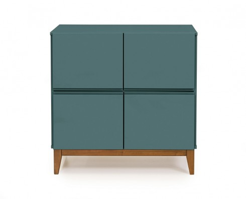 Buffet 4 Portas Home  -  Verde