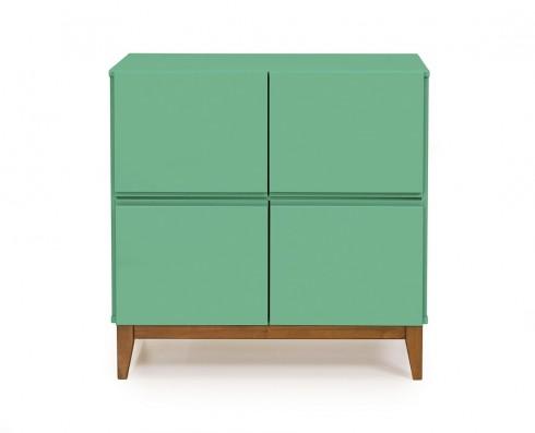 Buffet 4 Portas Home  -  Verde Esmeralda