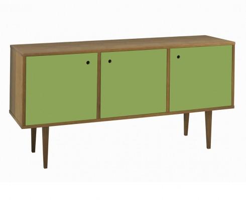 Buffet Vintage 3 Portas  -  Verde Greenery