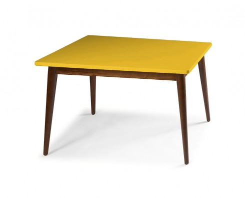 Mesa de Jantar Novita  120 x 90  -  Amarela