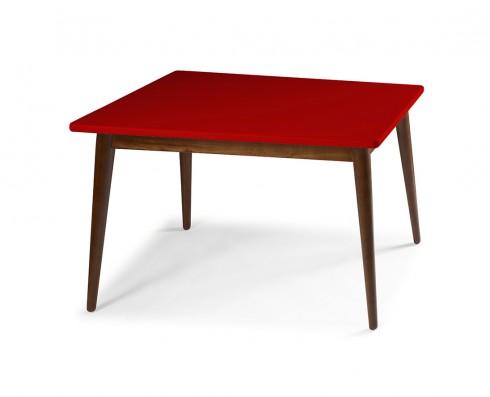 Mesa de Jantar Novita  120 x 90  -  Vermelha