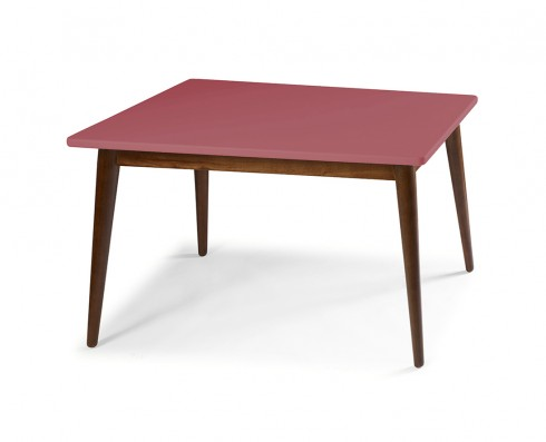 Mesa de Jantar Novita  140 x 90  -  Rosa