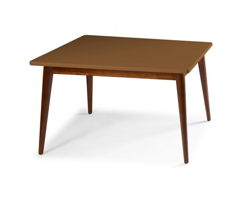 Mesa de Jantar Novita  140 x 90  -  Marrom Claro