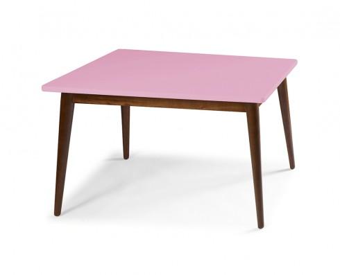 Mesa de Jantar Novita  140 x 90  -  Rosa Claro