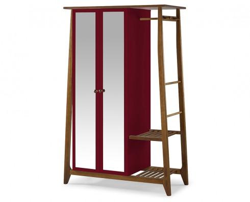 Armário Multiuso Stoka 2 portas  -  Vinho