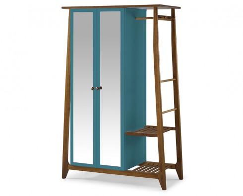 Armário Multiuso Stoka 2 portas  -  Azul Turquesa