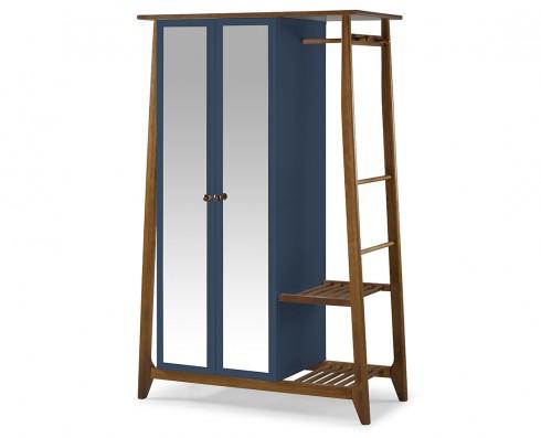 Armário Multiuso Stoka 2 portas  -  Azul Escuro