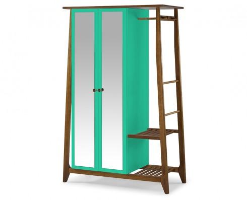 Armário Multiuso Stoka 2 portas  -  Verde Esmeralda