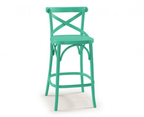 Banqueta X - Verde Esmeralda
