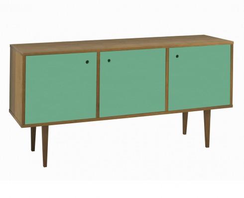 Buffet Vintage 3 Portas  -  Verde Esmeralda