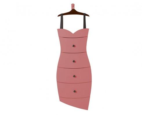 Cômoda Dress  -  Rosa