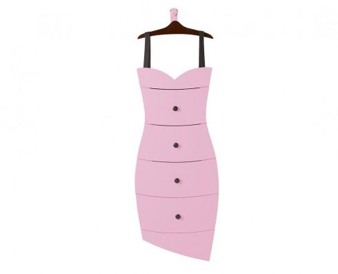 Cômoda Dress  -  Rosa Claro