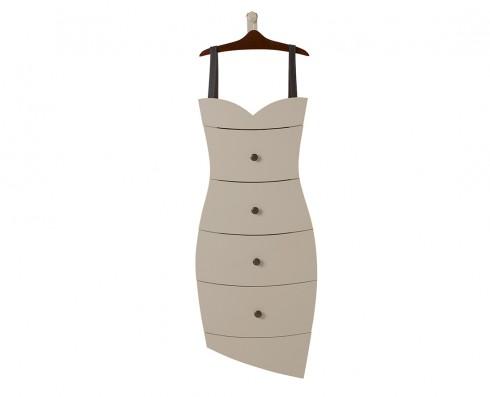 Cômoda Dress  -  Nude