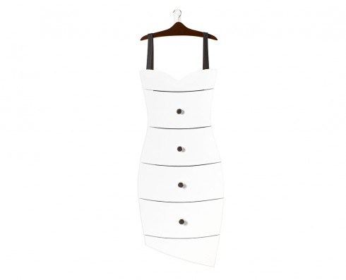 Cômoda Dress  -  Branca
