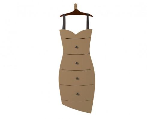 Cômoda Dress  -  Marrom Claro