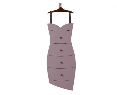 Cômoda Dress  -  Lilás