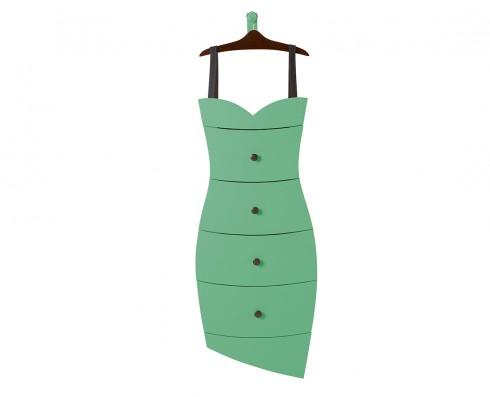 Cômoda Dress  - Verde Esmeralda