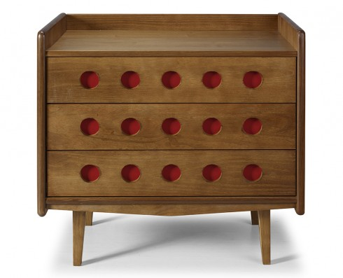Cômoda Vintage   -  Vinho