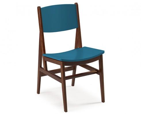 Cadeira Dumon -  Azul Turquesa