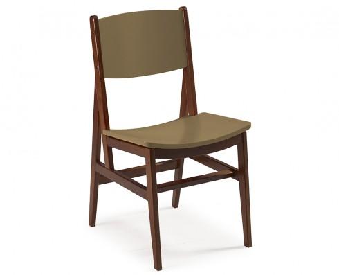 Cadeira Dumon -  Marrom Claro