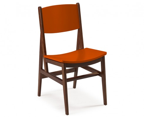 Cadeira Dumon -  Laranja