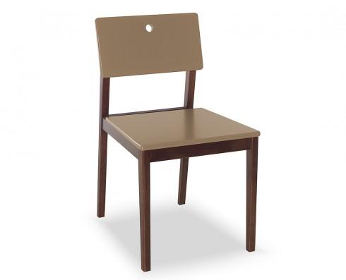 Cadeira Flip  -  Marrom Claro
