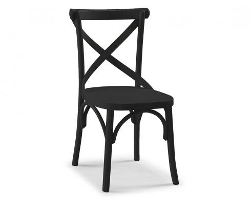 Cadeira X - Preta