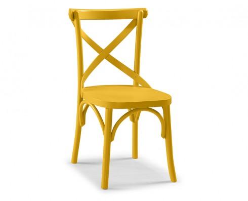 Cadeira X - Amarela