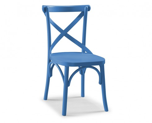 Cadeira X - Azul Turquesa