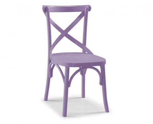Cadeira X - Lilás