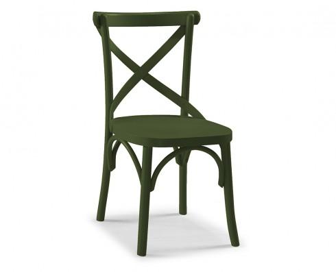 Cadeira X - Verde Escuro