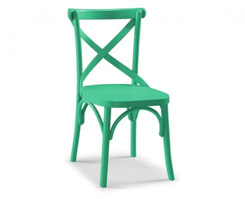 Cadeira X - Verde Esmeralda