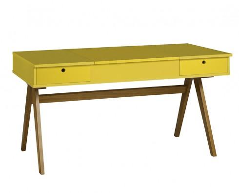Escrivaninha | Penteadeira Delacroix  -  Amarela