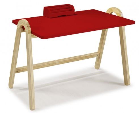 Escrivaninha Ringo  -  Vermelha