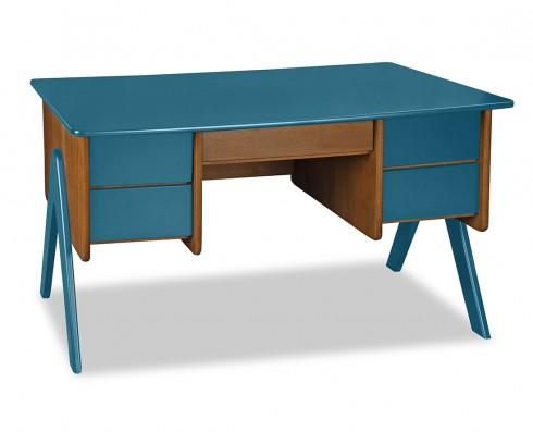 Escrivaninha Vintage  -  Azul Turquesa