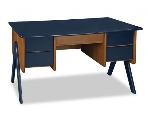 Escrivaninha Vintage  -  Azul Escuro