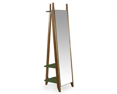 Espelho Stoka  -  Verde Escuro