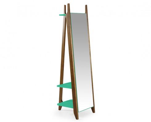 Espelho Stoka  -  Verde Esmeralda