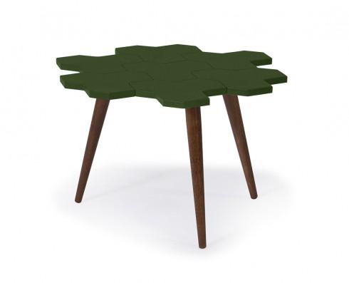 Mesa de Centro Colméia  -  Verde Escuro