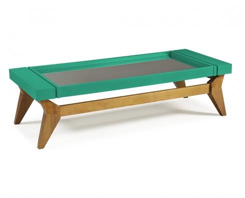 Mesa de Centro Crystal  -  Verde Esmeralda