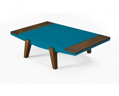 Mesa de Centro Imperial  -  Azul Turquesa