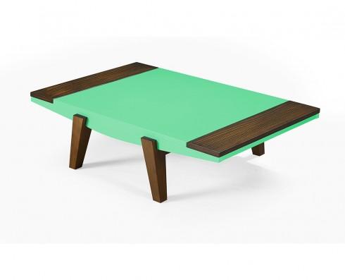 Mesa de Centro Imperial  -  Verde Esmeralda
