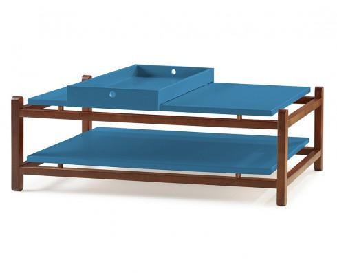 Mesa de Centro Uno  -  Azul turquesa