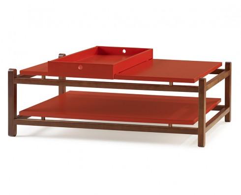 Mesa de Centro Uno  -  Vermelha