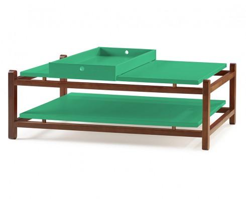Mesa de Centro Uno  -  Verde Esmeralda