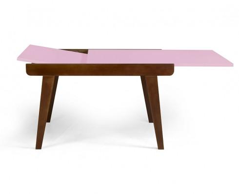 Mesa de jantar Extensível Maxi  -  Rosa Claro